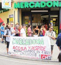 Con 83 días de huelga los trabajadores de Mercadona se manifestarán esta tarde en Barcelona